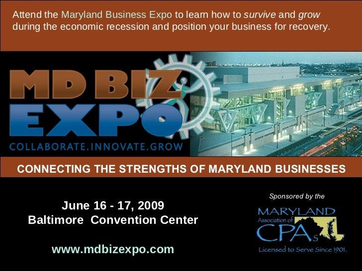 MDBIZEXPO - 2009
