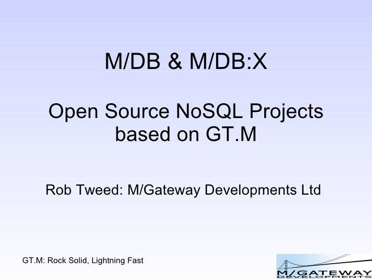 M/DB and M/DB:X