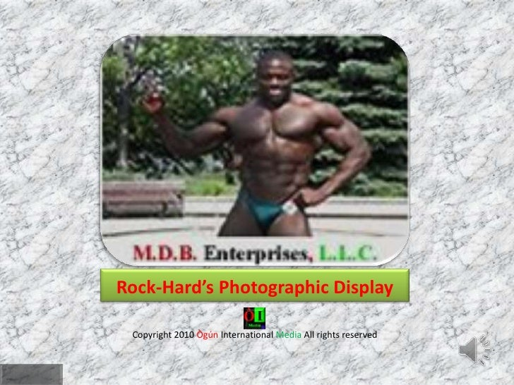 Mr. Indiana Bodybuilder Michael D Barnes