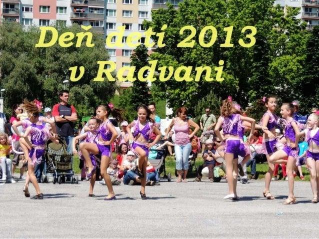 Deň detí v Radvani - 2013
