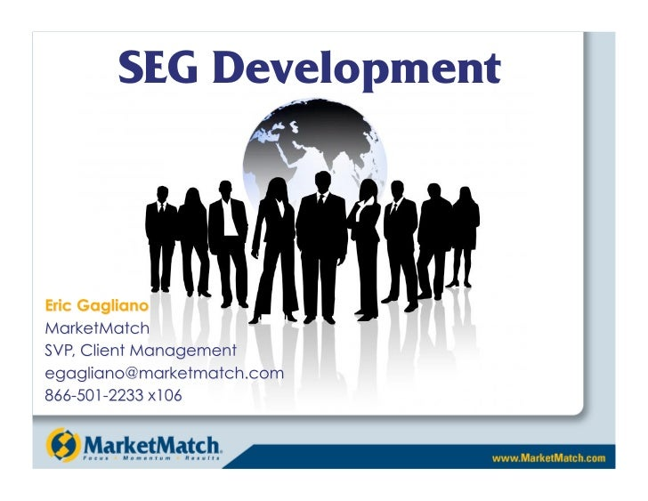 Credit Union SEG Development