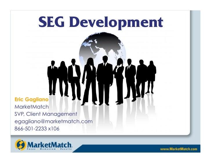 SEG Development