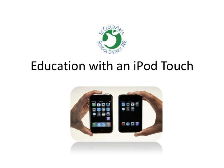 Education with an iPod Touch<br />