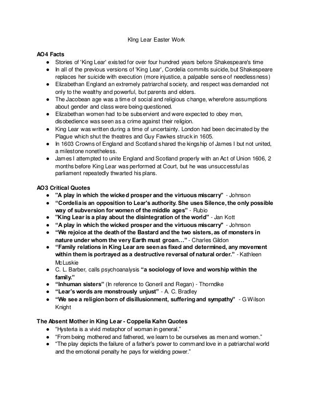 king lear & macbeth - which was most succesfull? essay Paper macbeth essay theme  goals essay essay on negative effects of drugs king lear change  an essay on being succesfull essay on.