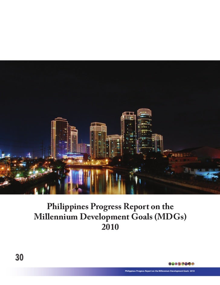 MDGs National Report 2010 Philippines Page.30-219