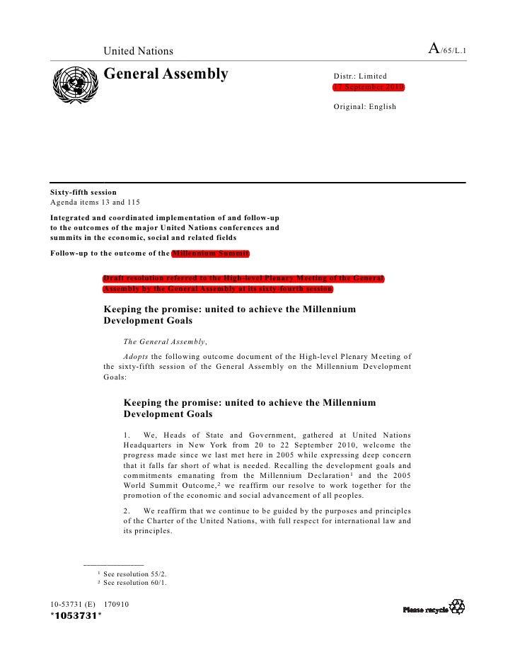 Lições e análise de impactos dos Objetivos de Desenvolvimento do Milênio