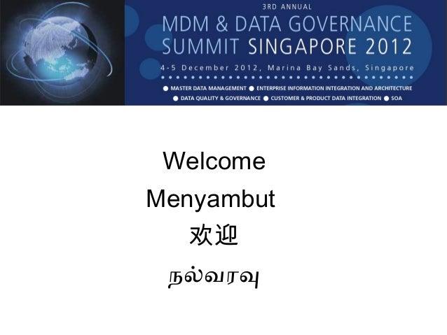 MDG & RDM field reports   Aaron Zornes - 2012 Singapore- print v1