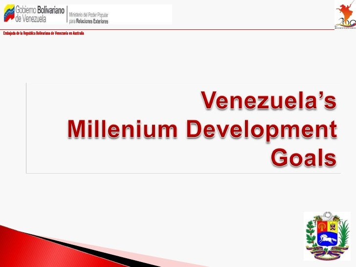 Venezuela and the Millennium Development Goals