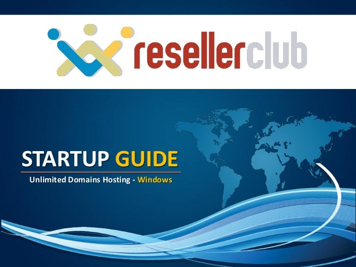 STARTUP GUIDEUnlimited Domains Hosting - Windows