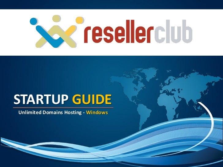 Windows Multi-Domain Hosting Start-Up Guide