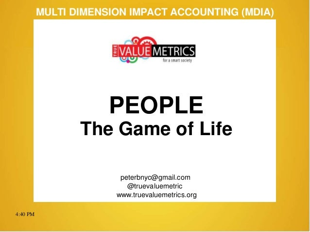 PEOPLE ... The Game of Life (140517)