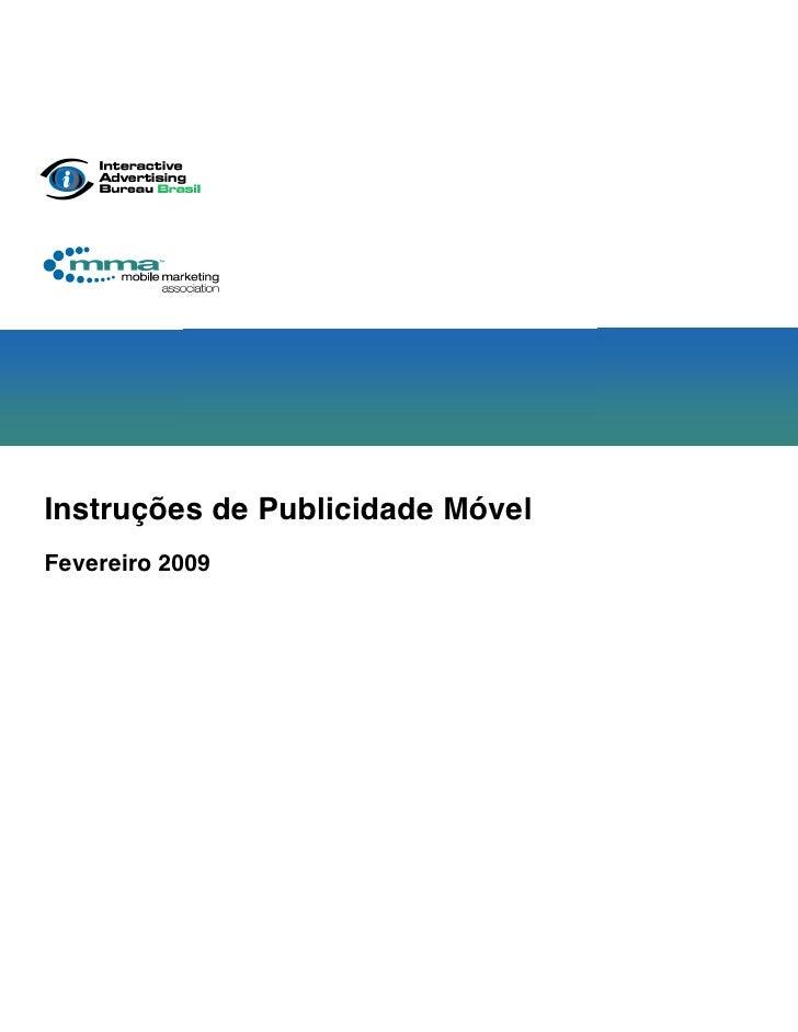 Mídia Online - Mídia Movel - Manual