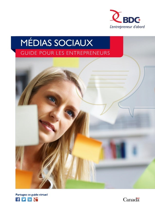 Média sociaux guide pour les entrepreneurs bdc