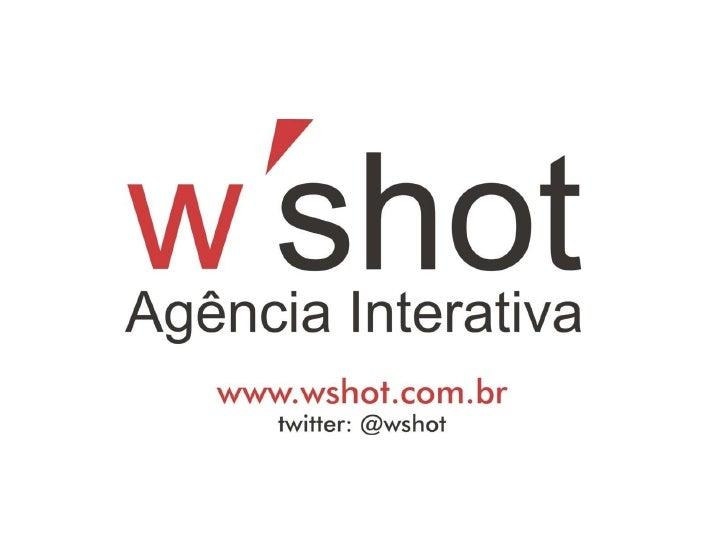 Mídias Sociais - W'shot Agência de Publicidade - Publicidade para imobiliária e Marketing para imobiliária wshot