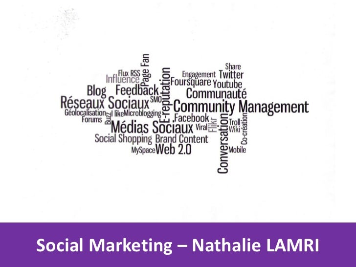 Social Marketing – Nathalie LAMRI