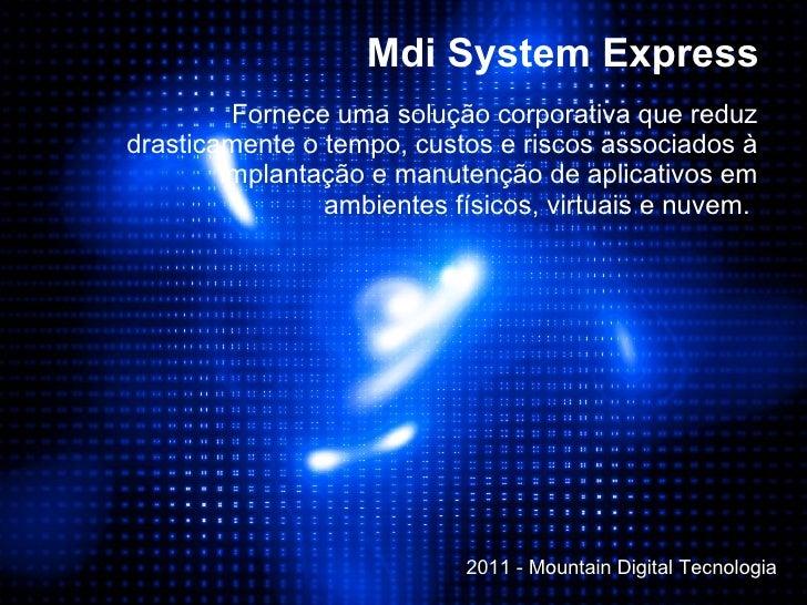 Mdi systemexpress