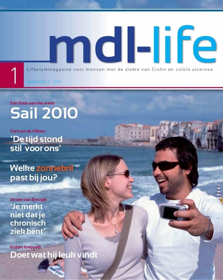 1                      mdl-life         Lifestylemagazine voor mensen met de ziekte van Crohn en colitis ulcerosa        J...