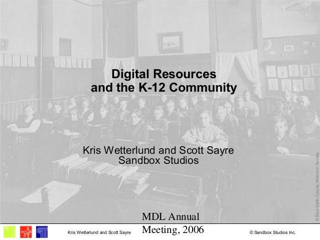 MDL Annual Meeting, 2006 © Sandbox Studios Inc.Kris Wetterlund and Scott Sayre ©BlueEarthCountyHistoricalSociety Digital R...