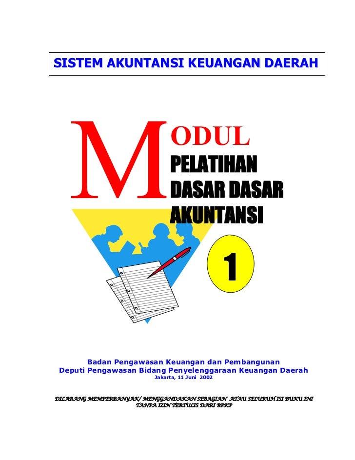 modul dasar akuntansi