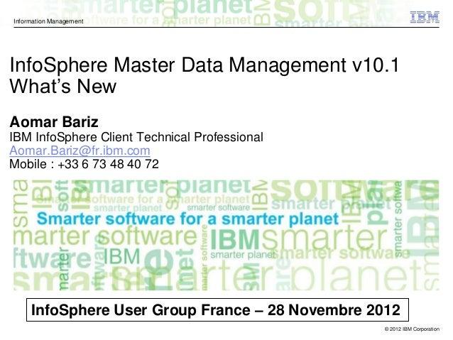 ibm infosphere master data management pdf