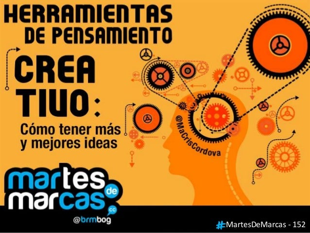 #MartesDeMarcas 153 - Herramientas de Pensamiento Creativo con @macriscordova