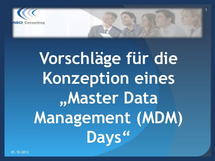 Master Data Management (MDM) Day