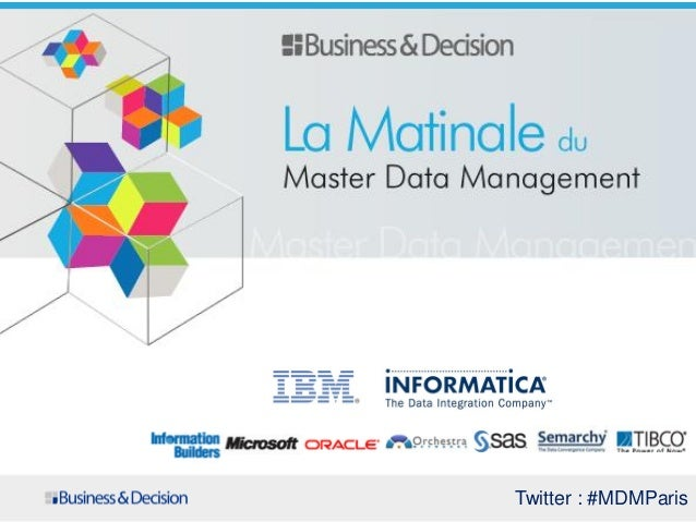 Matinale MDM 2013 Business & Decision
