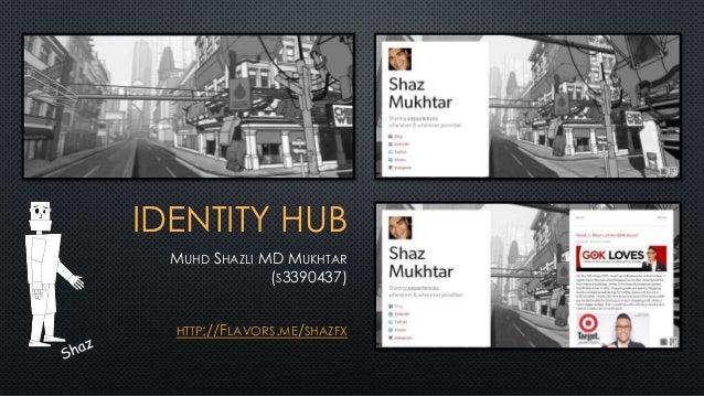 Muhd Shazli MD Mukhtar (s3390437) ID Hub