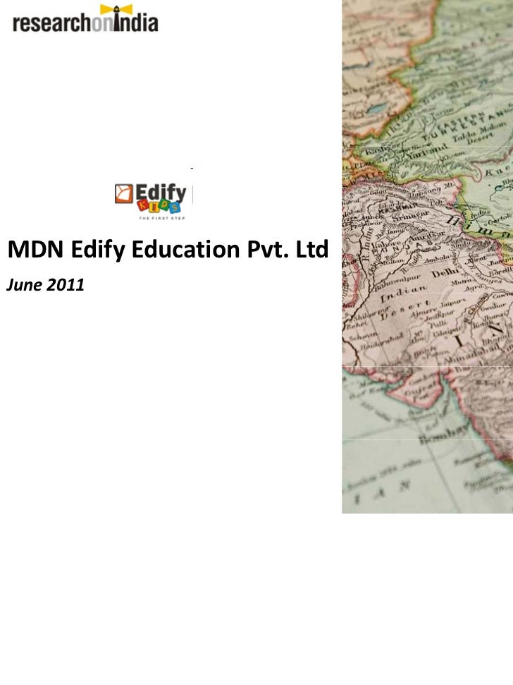 MDN Edify Education Pvt. LtdJune 2011