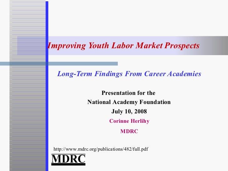 Mdrc naf presentation 07-10-2008