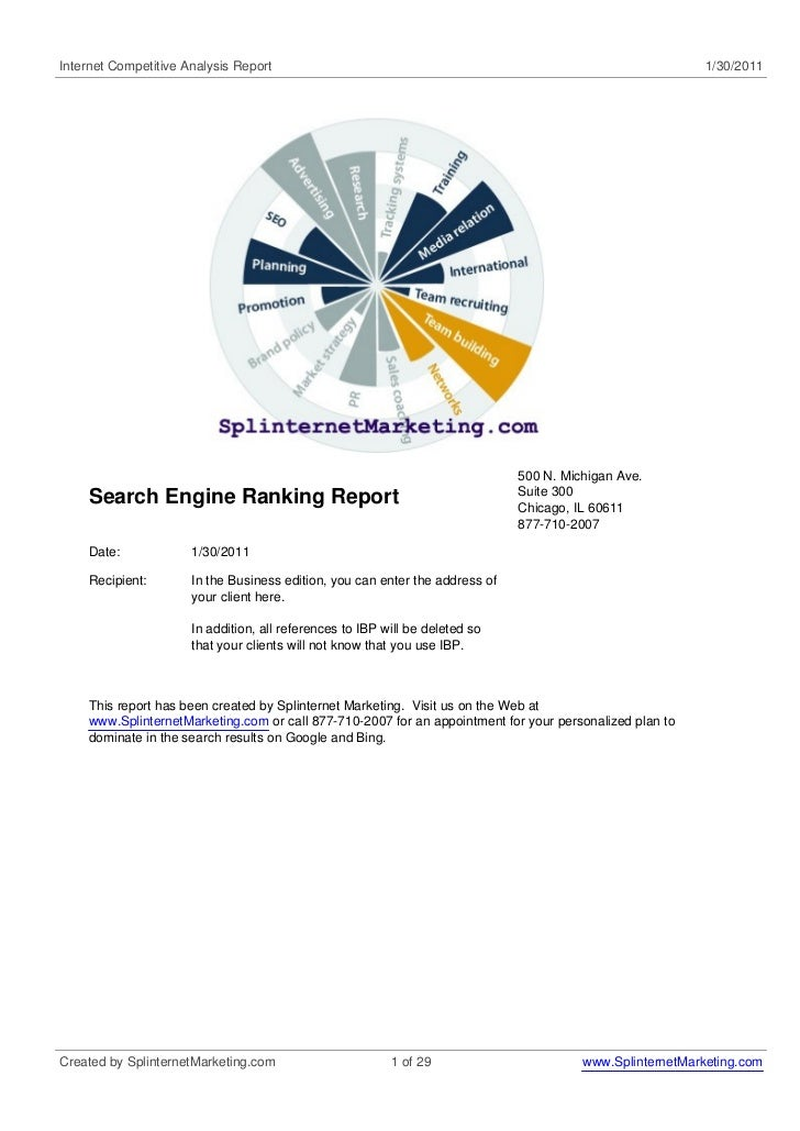 Internet Competitive Analysis Report                                                                       1/30/2011      ...