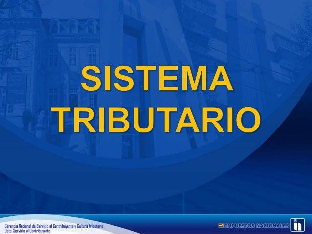 1er taller OECOMs - Sistema Tributario