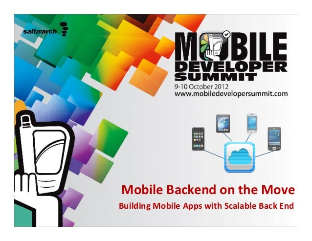 scalable backend services at mobile developer summit