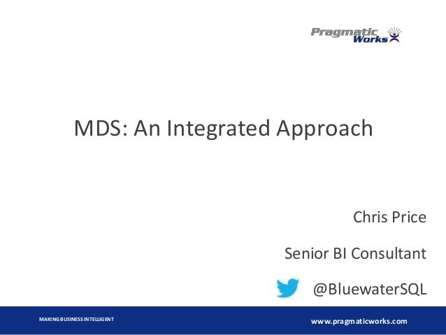MDS An Integrated Approach
