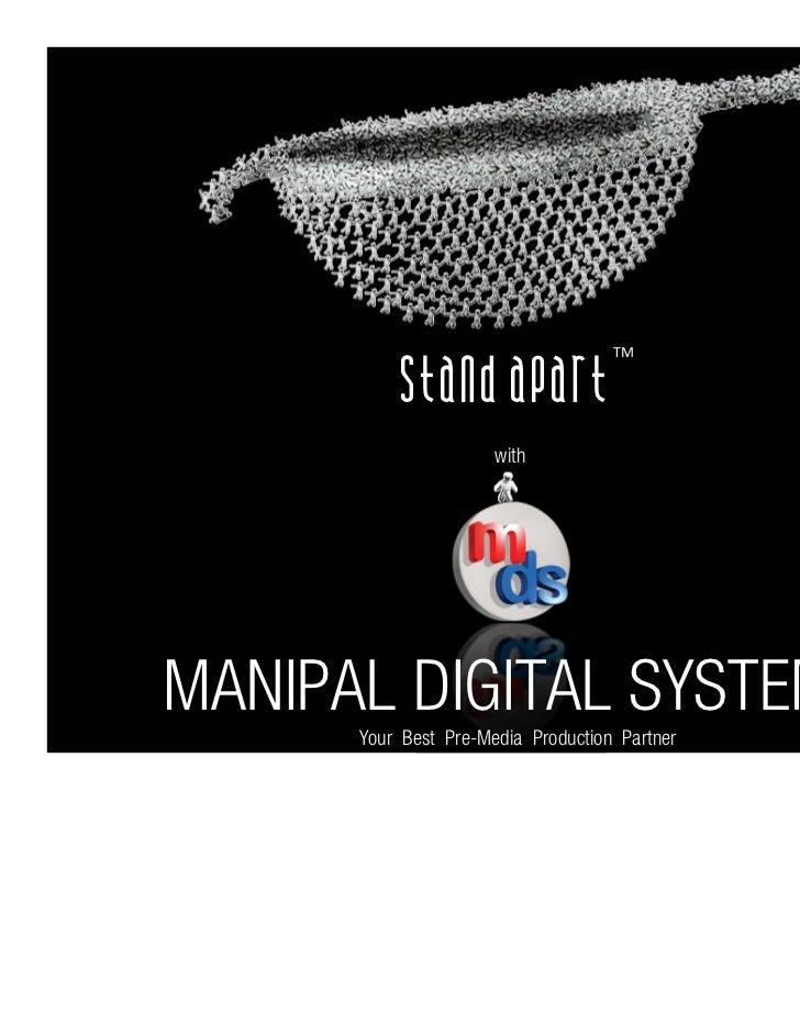 Manipal Digital Systems_Portfolio