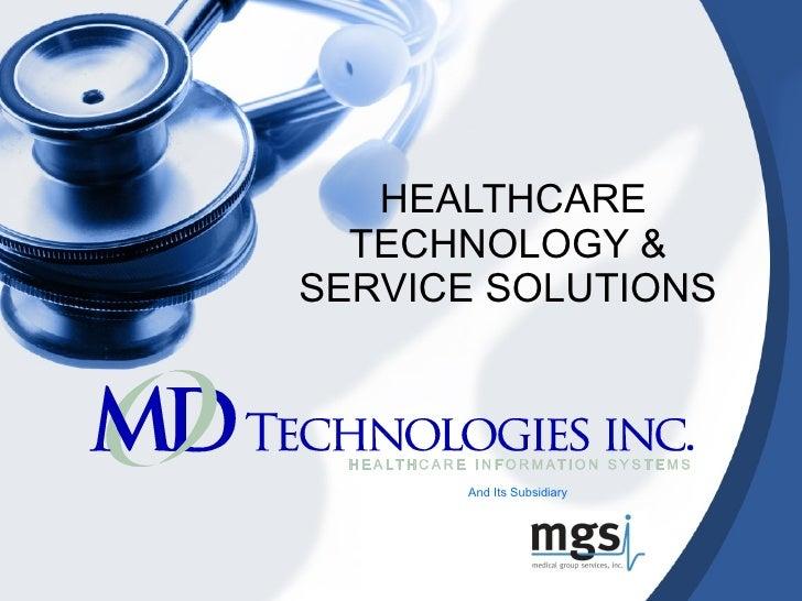 MD Technologies, Inc.: Your Medical Billing Outsourcing Partner