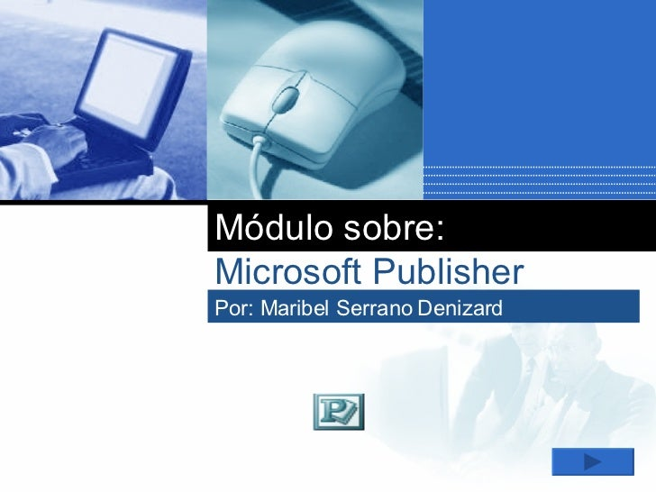 Módulo de Publisher
