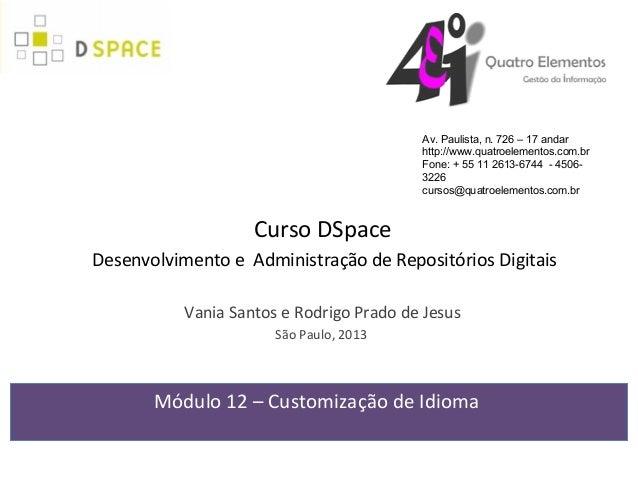Módulo 12 Customização de idioma