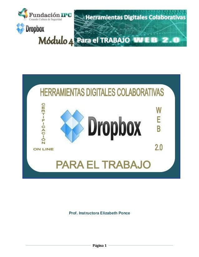 Módulo 4. Dropbox