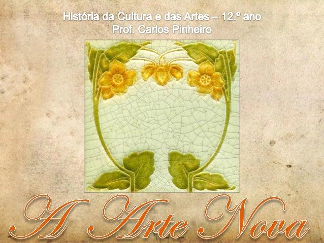 O Movimento Arts and Crafts O Movimento Arts and Crafts nasce em Inglaterra c. de 1860, como reação contra a influência da...