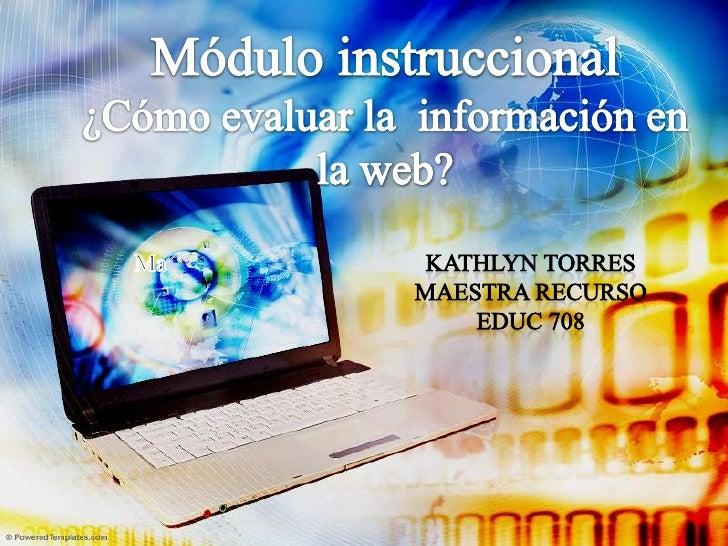 Por: Kathlyn Torres Maestra Recurso nacerkathy@gmail.com