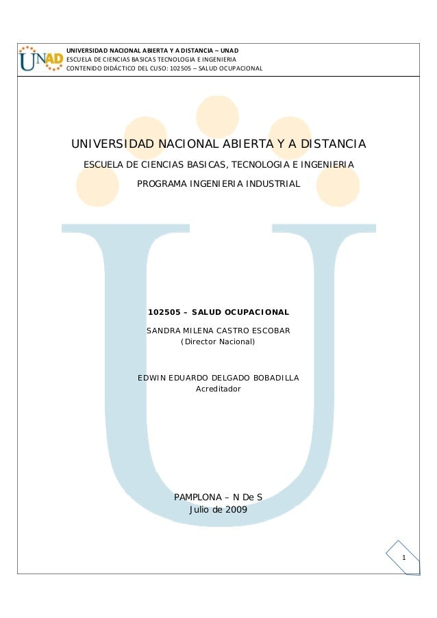 UNIVERSIDADNACIONALABIERTAYADISTANCIA– UNADESCUELADECIENCIASBASICASTECNOLOGIAEINGENIERIACONTENIDODIDÁCTICO...