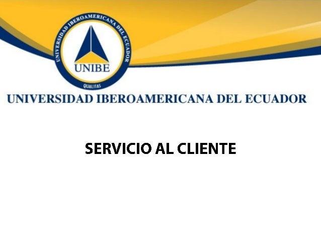 Módulo Servicio al Cliente