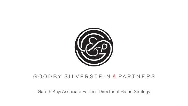 Gareth Kay: Associate Partner, Director of Brand Strategy