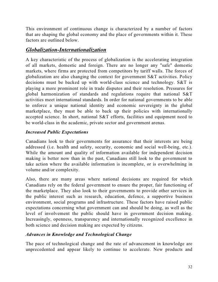 Benefits of globalization essay