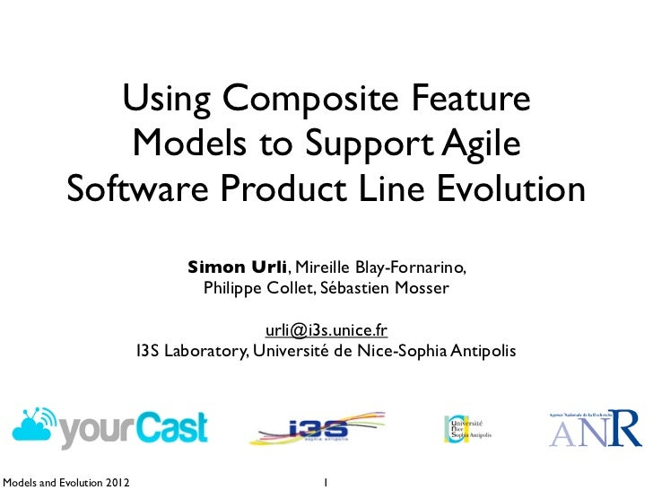 Using Composite Feature Models to Support Agile Software Product Line Evolution - Models and Evolution 2012