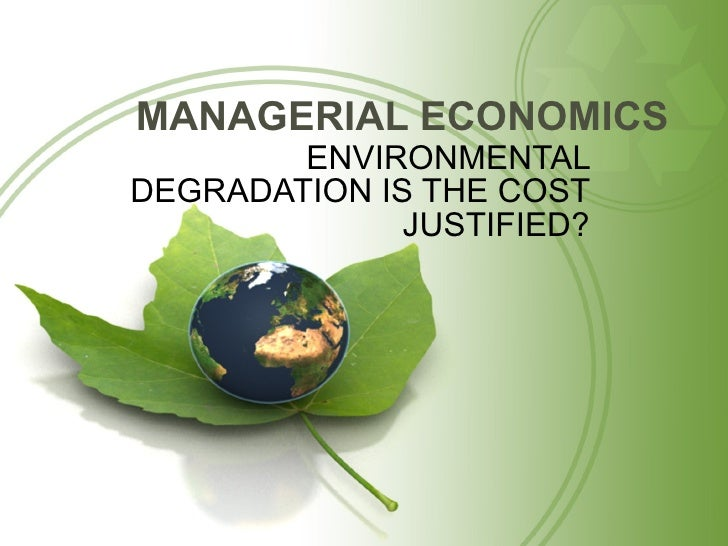 enviroment degradation