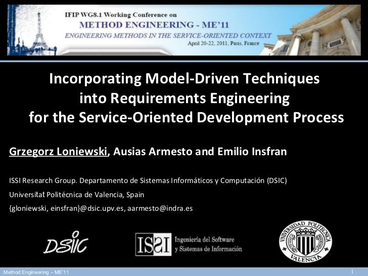 13 th  International Conference on Model Driven Engineering Languages and Systems - MODELS 2010  3rd-8th October, 2010 - O...