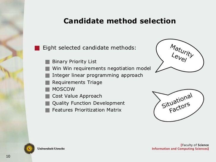 Priority List Method Binary Priority List Win