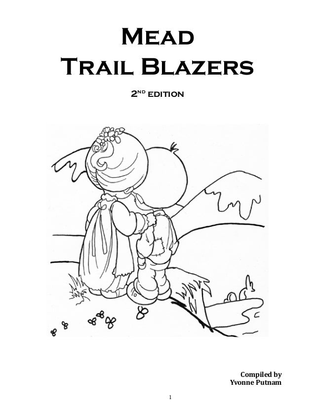 Mead Trail Blazers 2nd edition  Compiled by Yvonne Putnam 1